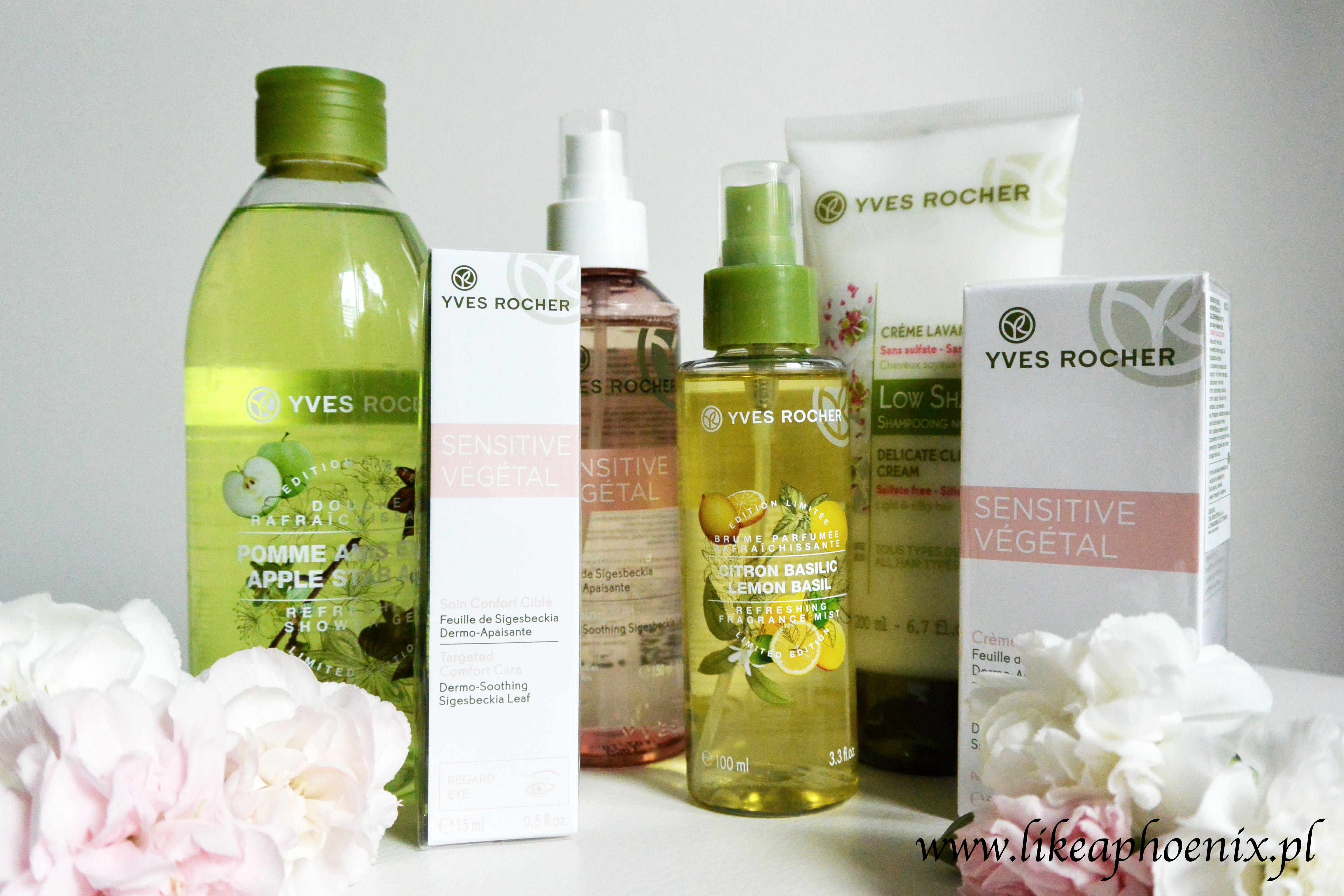 kosmetyki z Yves Rocher