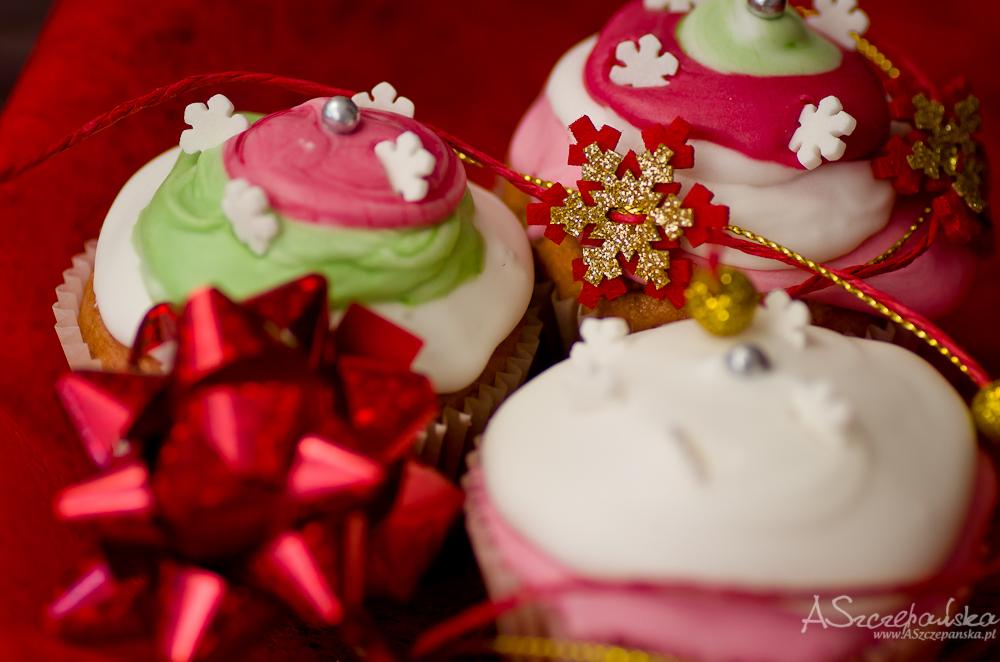 Świąteczne babeczki
