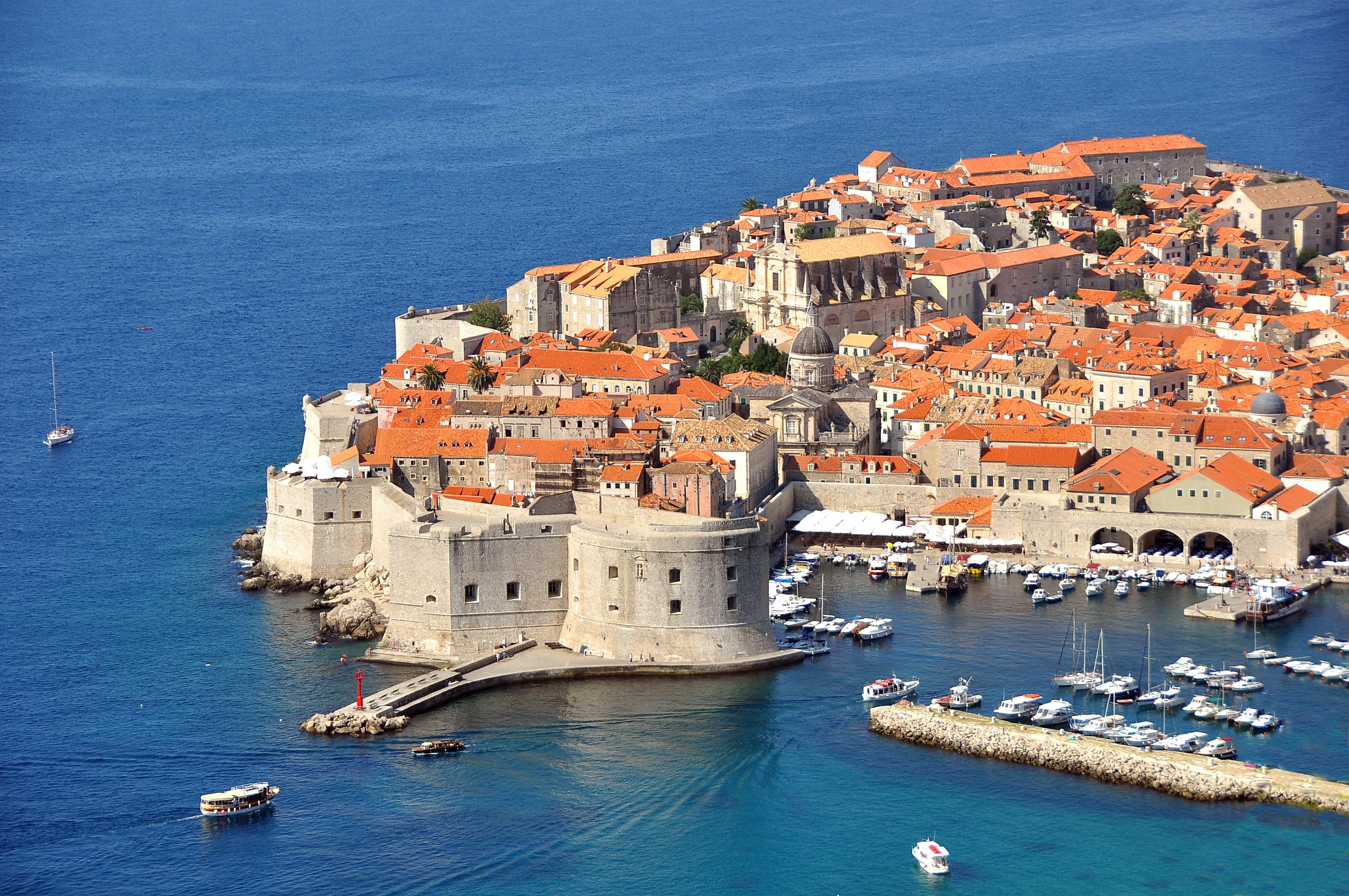 Croatia. Views of the city Dubrovnik