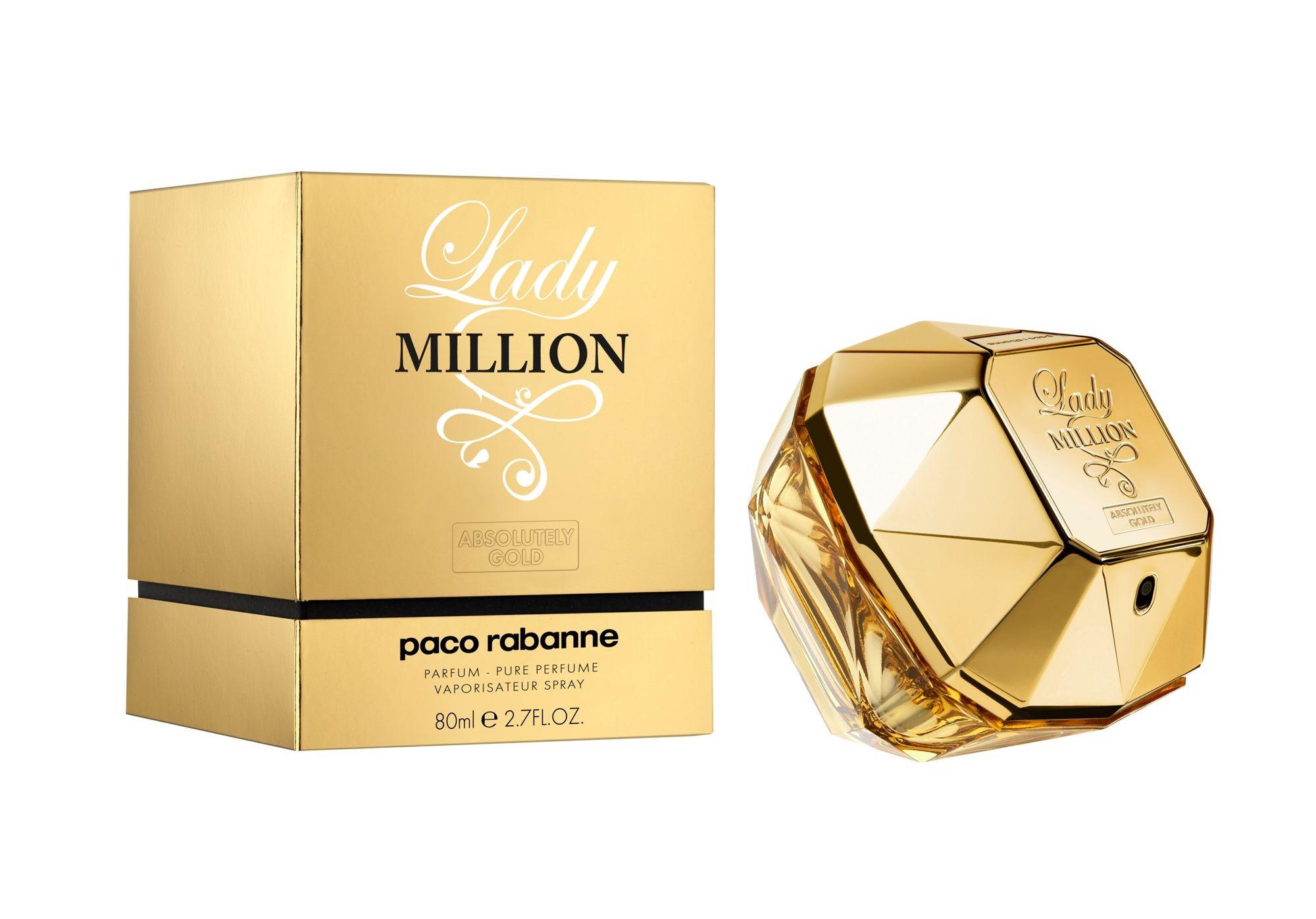 letnie perfumy paco rabanne lady million abs gold