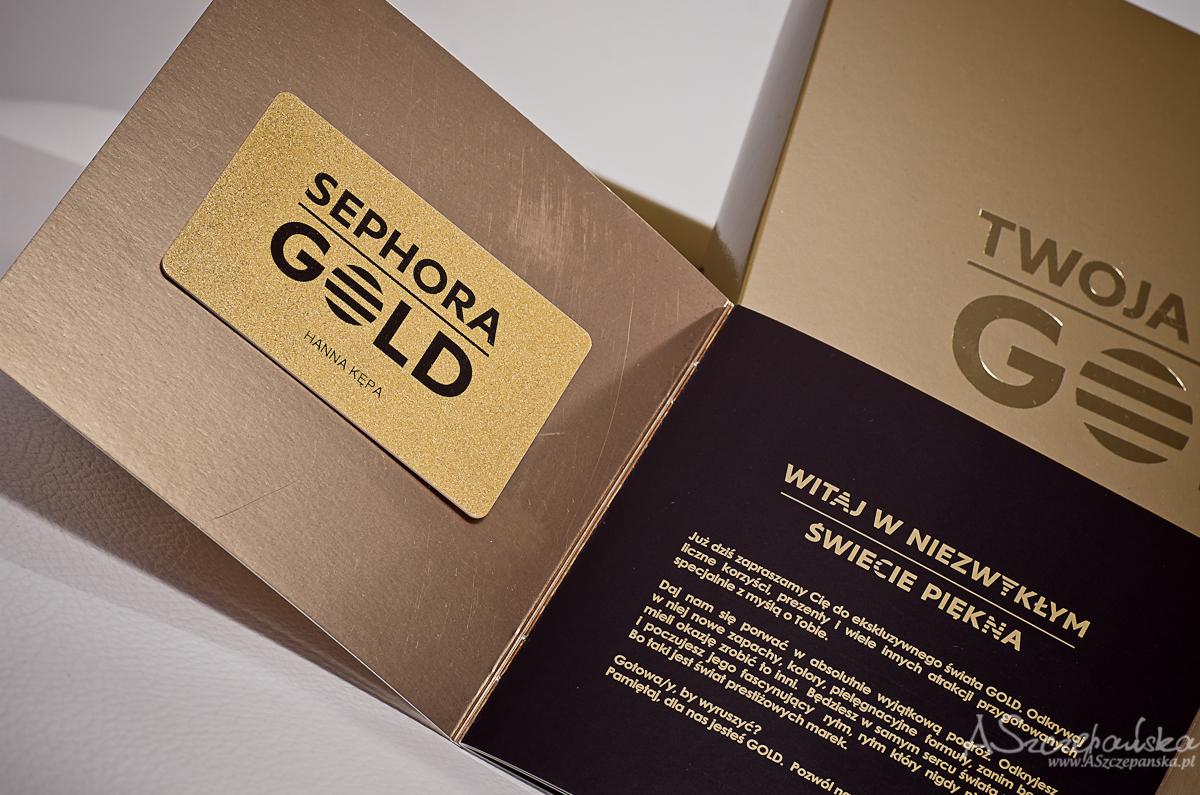 karta sephora gold