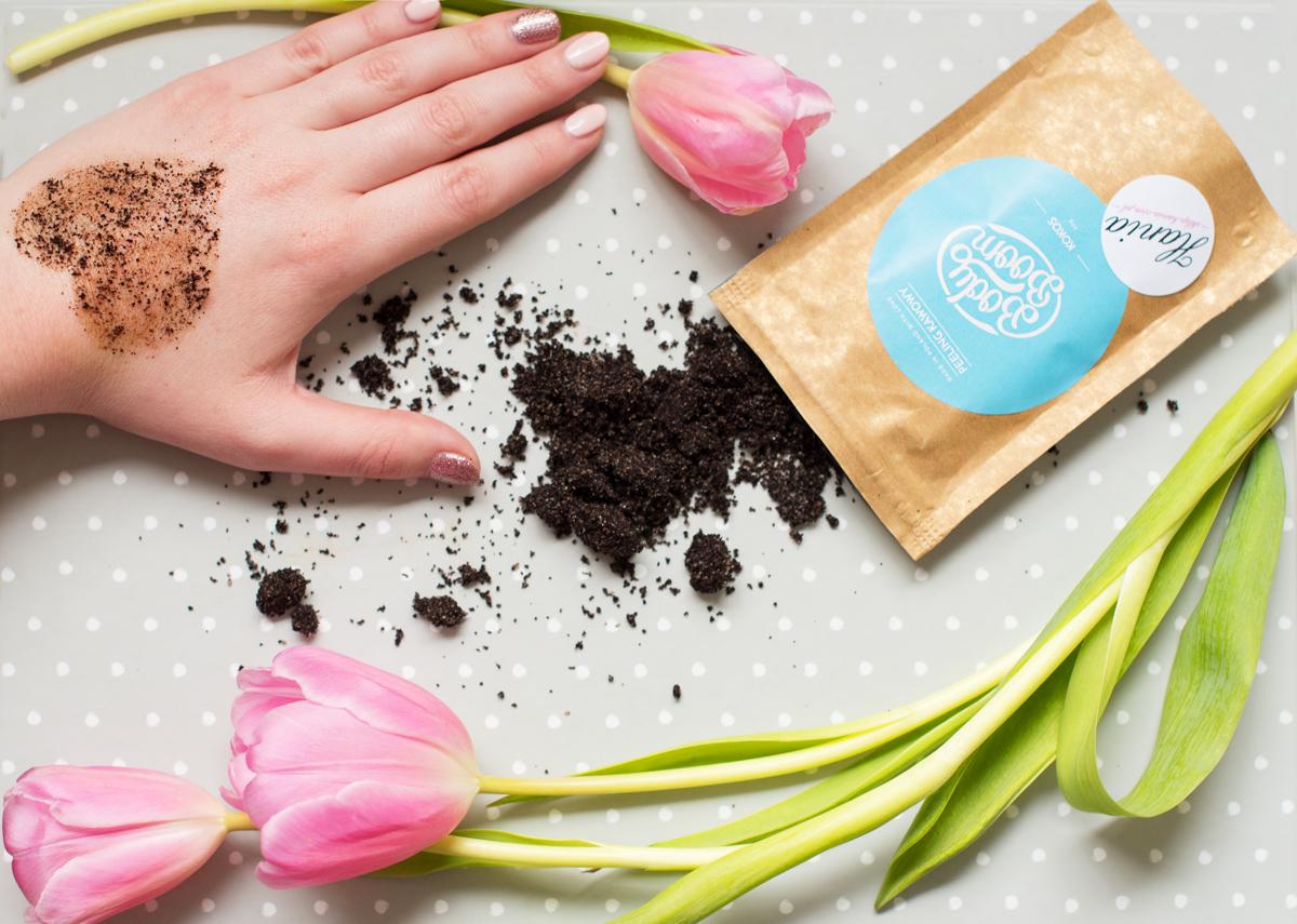 kawowy peeling zapachowy
